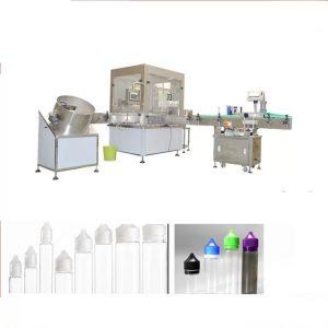 Elektronika Likva Pleniganta Maŝino Kun Siemens-Interreta Tuŝa Interfaco
