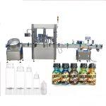 Servo Motora Guto-Botelo Pleniganta Maŝinon, Tuŝekrana Kontrolo Perfume Kapanta Maŝinon